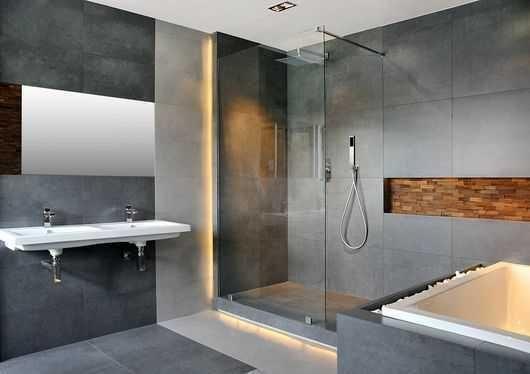 Aranżacje z płytek - łazienki i pokoje kąpielowe