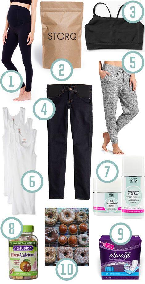 second trimester pregnancy favorites