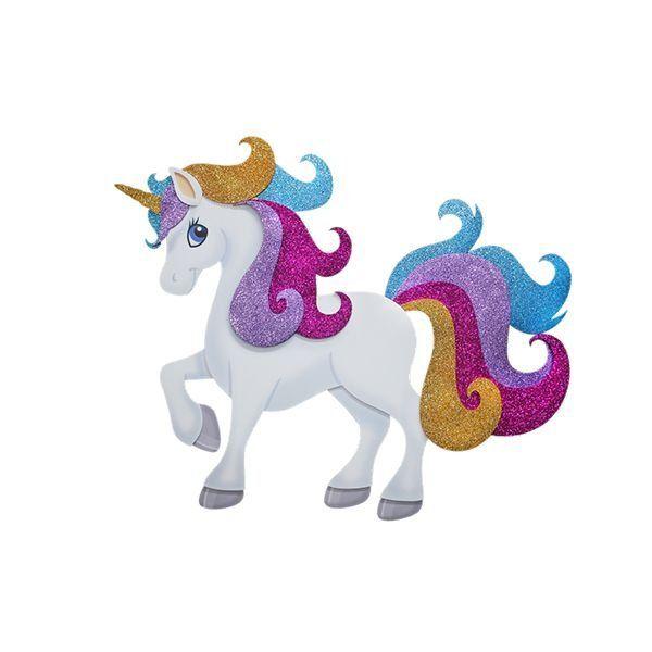 Painel Decorativo Unicornio Grande E V A Artigos E Decoracoes Para Festas Festas De Aniversario Unicornio Festa Unicornio Unicornio