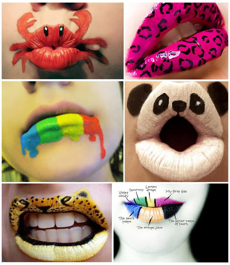 Lip Art Designs : Best images about face painting ideas on pinterest
