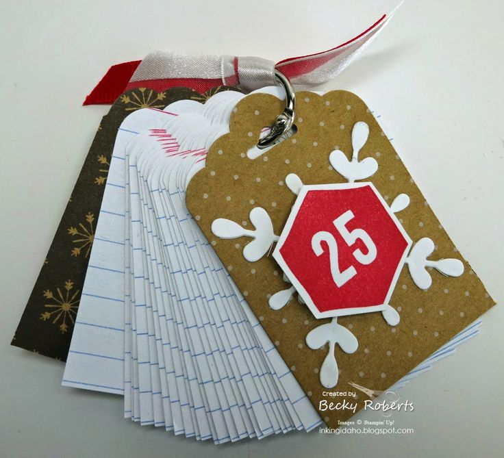 Holiday Notepad by Becky Roberts; details here: http://inkingidaho.blogspot.com/2014/12/year-end-closeouts.html