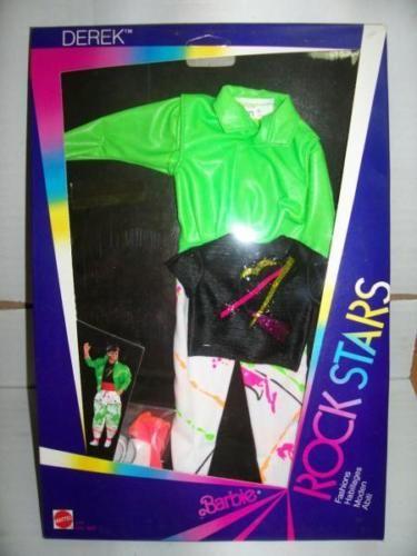 Mattel-Barbie-ROCKERS-ROCK-STARS-Abito-1177-MIB-1985