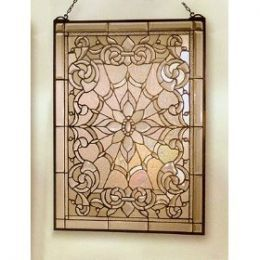 How To Faux Stain Glass Windows and Doors To Look Like The Real Thing! Instructions and Photos