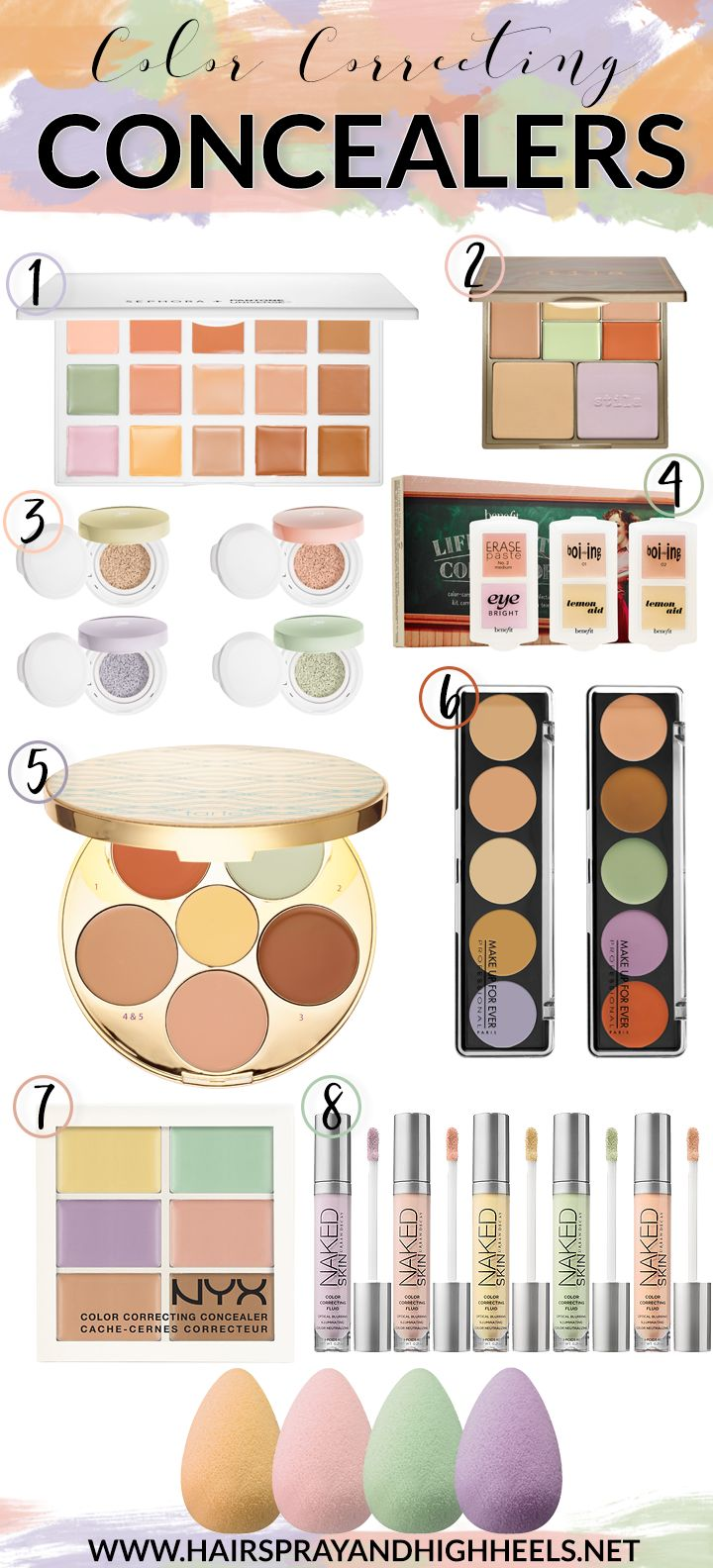 25+ best ideas about Color correcting concealer on Pinterest ...