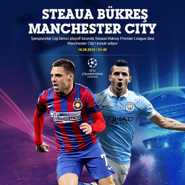 Steaua Bükreş, Şampiyonlar Ligi playoff turunda Pep Guardiolalı Manchester City karşısında sürpriz arayacak. EN YÜKSEK ORANLAR DİNAMOBET'TE. https://www.dinamobet4.com/tr/sports#/