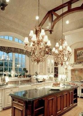 Luxury Kitchen like this must have some lindor truffles!