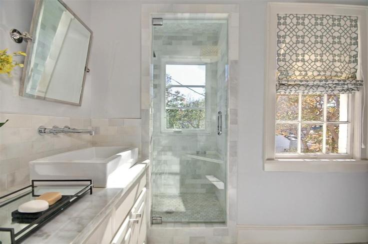 Bathroom Roman Shade Ideas : Bathroom interiors roman shades and