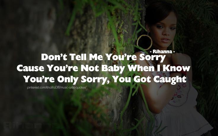 rihanna song quotes - photo #11