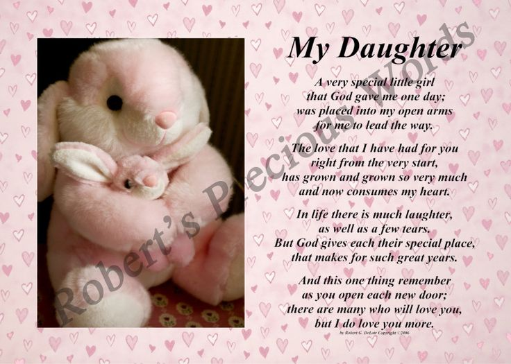 Birthday Poems to My Daughter | My Daughter