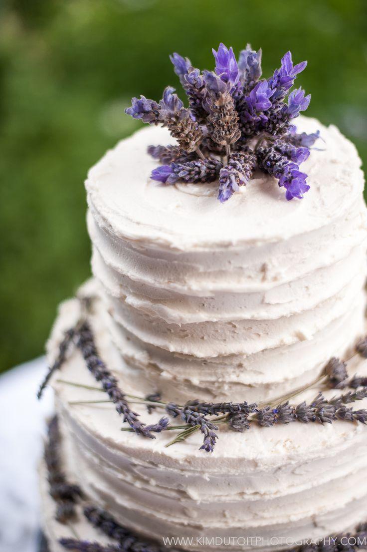 Rustic Lavender Wedding Cake Wedding Cakes Lavender Flowers Lavender Wedding Cake Country Wedding Cakes