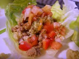 HCG Diet Ground Beef Tacos