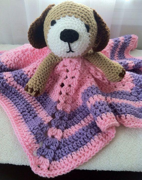Free Crochet Dog Lovey Pattern : 1000+ images about haken tutteldoekjes, rammelaars en ...