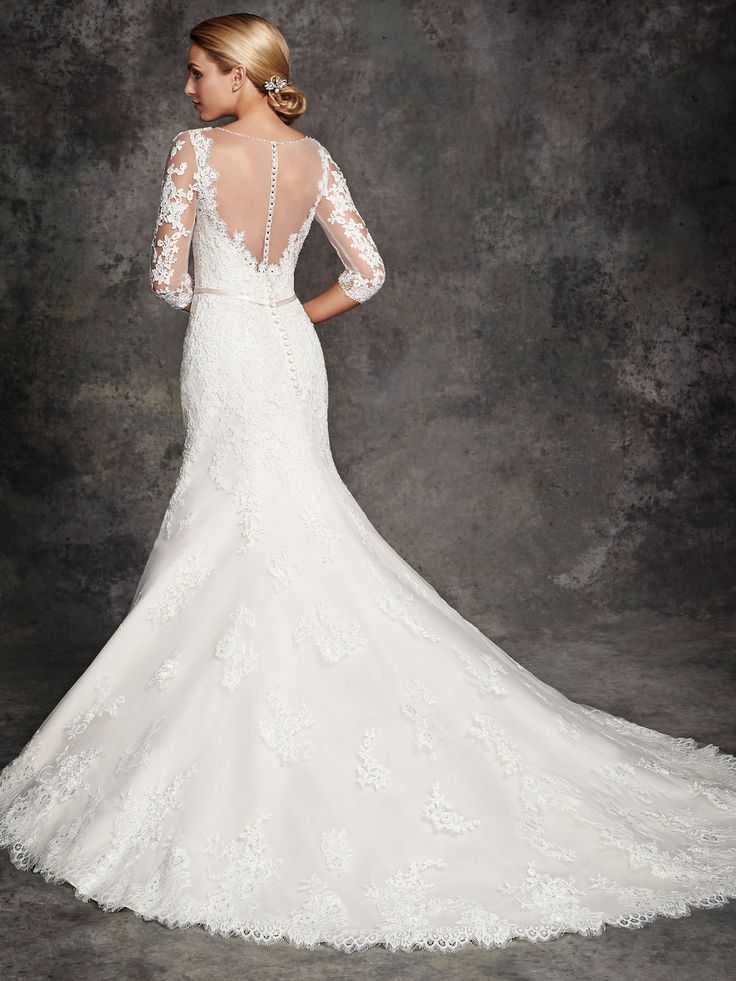 Style b273 bridal gowns wedding dresses ella rosa for Private label wedding dresses