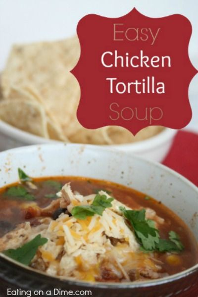 ... Pinterest | Soups, Chicken enchilada soup and Chicken wild rice soup