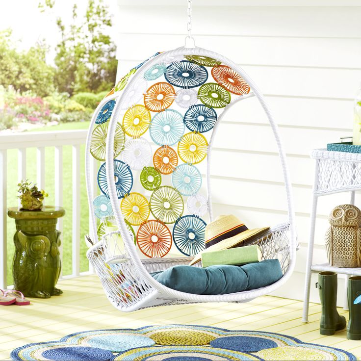 Swingasan circles pier 1 imports swoon growing weeding pinterest circles - Pier one peacock chair ...