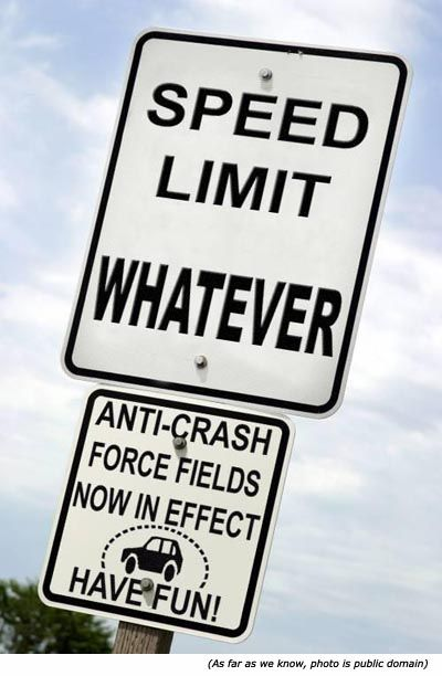 Limitation of Speed Limits