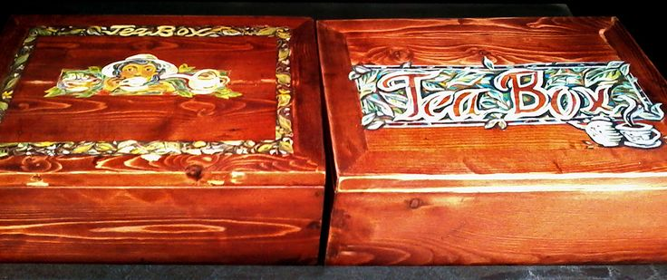 Yucca Rose-Making Of The Tea Boxes