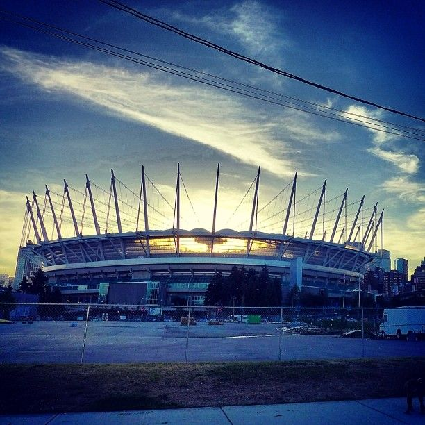 BC Place in Vancouver, BC All things soccer, home of the Whitecaps. Also one of Vancouver's main music venues!