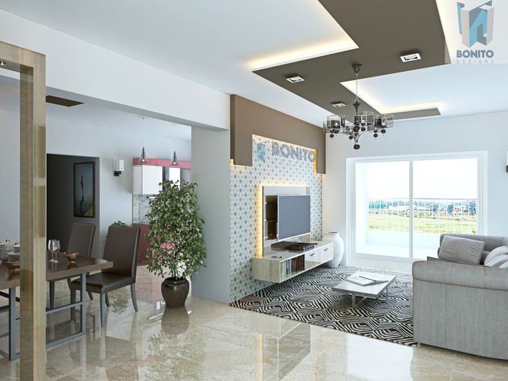 Take A Look At The Luxurious Living Room That Has All Capacity To Woo You With Its Interiors