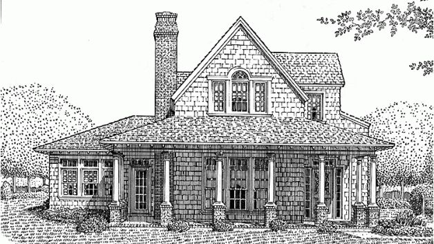 167 best images about build on pinterest 2nd floor for Gothic revival farmhouse