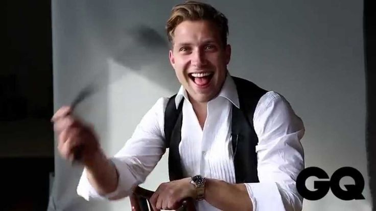 Suicide Squad Actor Jai Courtney GQ Behind The Scenes Shoot For MOTY 15
