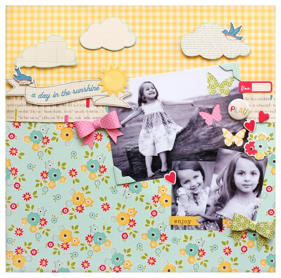 Cute layout.: Scrapbook Ideas, Layout Ideas, Scrapbook Layouts, Scrapbook Inspiration, Scrapbooking Pag, Scrapbook Papercraft, Scrapbook Pages, October Afternoon, Echo Parks Layout