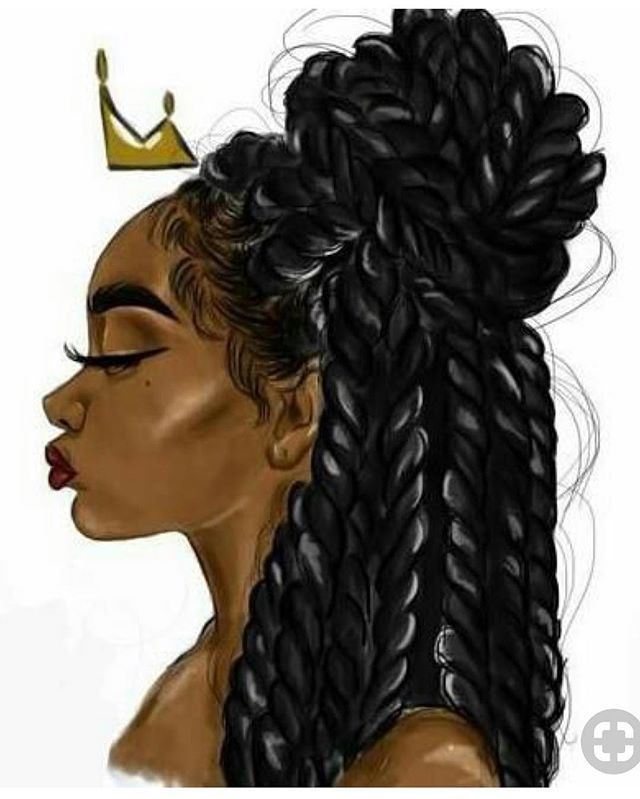 Just want to take a moment to show this artist talent. Please tag the artist. #blackart #blackartist #naturalhair #naturalhairdaily #protectivestyles #healthyhair #braids #twistsParker J's Hair Care