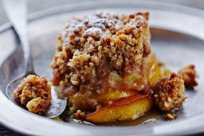 Fat free desert apple crisp