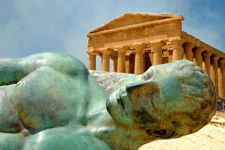"""Day 3 - Sicilian Secrets Tour of Sicily Agrigento - Valley of the Temples, stated World Heritage Site, where among hundreds of almond trees, the rests of the ancient Akragas rise. It was defined by Pyndar """"the most beautiful city of mortals"""""""