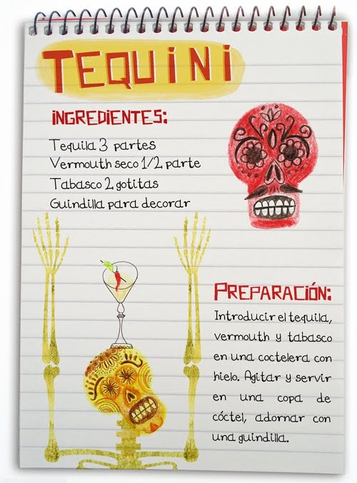 Tequini: Cóctel con tequila