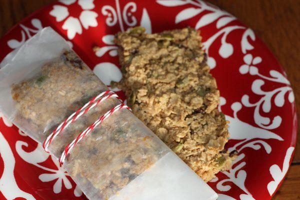 Peanut Butter Chocolate Chip Granola Bars.
