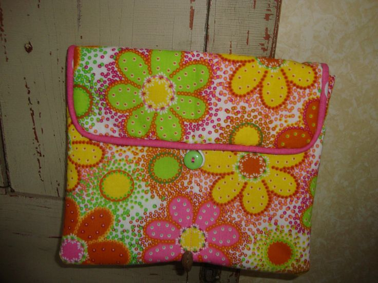 Floral Ipad Sleeve by EYPDesigns on Etsy