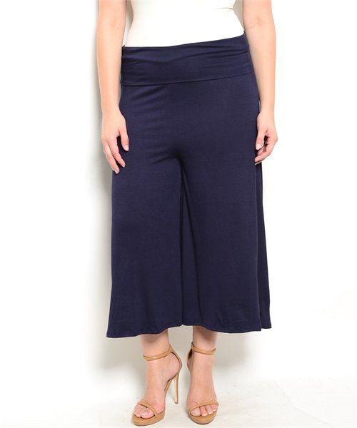 Plus Size Culotte Pant Clothing, Shoes & Jewelry - Women - Clothing - jeans women plus size - http://amzn.to/2kJLxY4