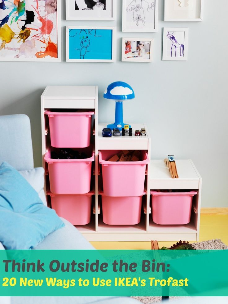 Beyond Toy Storage: 20 Ways to Hack, Tweak, Repurpose & Reimagine IKEA's Trofast