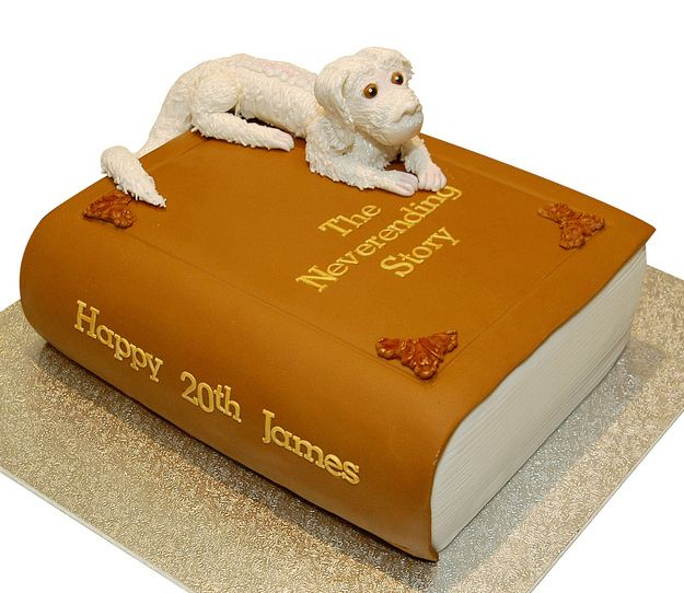 The Neverending Story Cake | 24 Incredible Cakes Inspired By Books