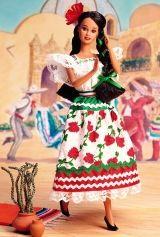 Barbie mexicano (México) Bonecas do Mundo *