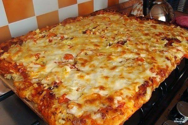 Шустрый повар.: Быстрая пицца