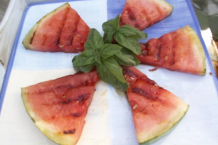 This sounds great! What a good camping food! #watermelon #grilling #paleocamping