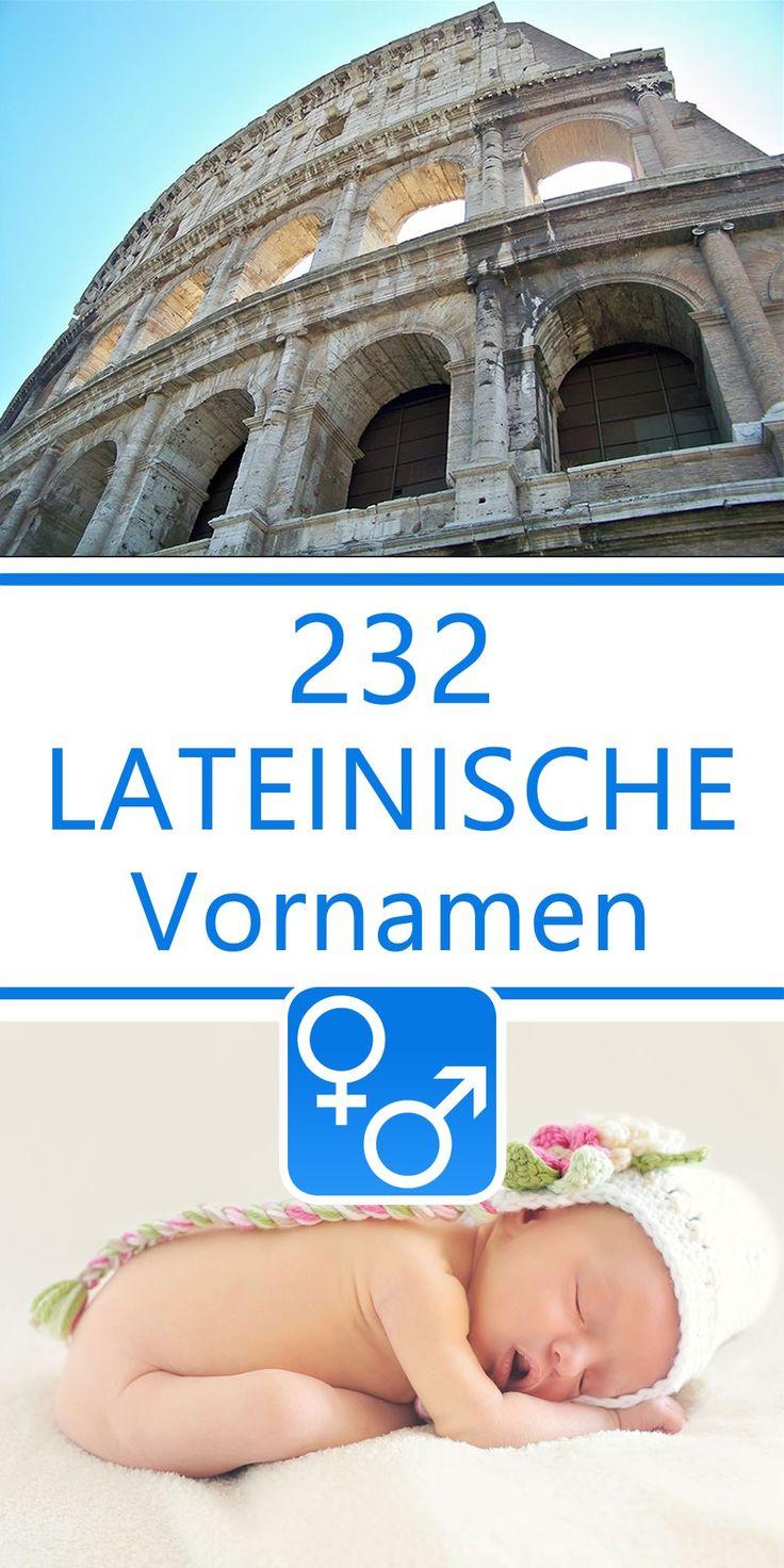 232 lateinische Vornamen für Jungen und Mädchen ...  232 lateinische...