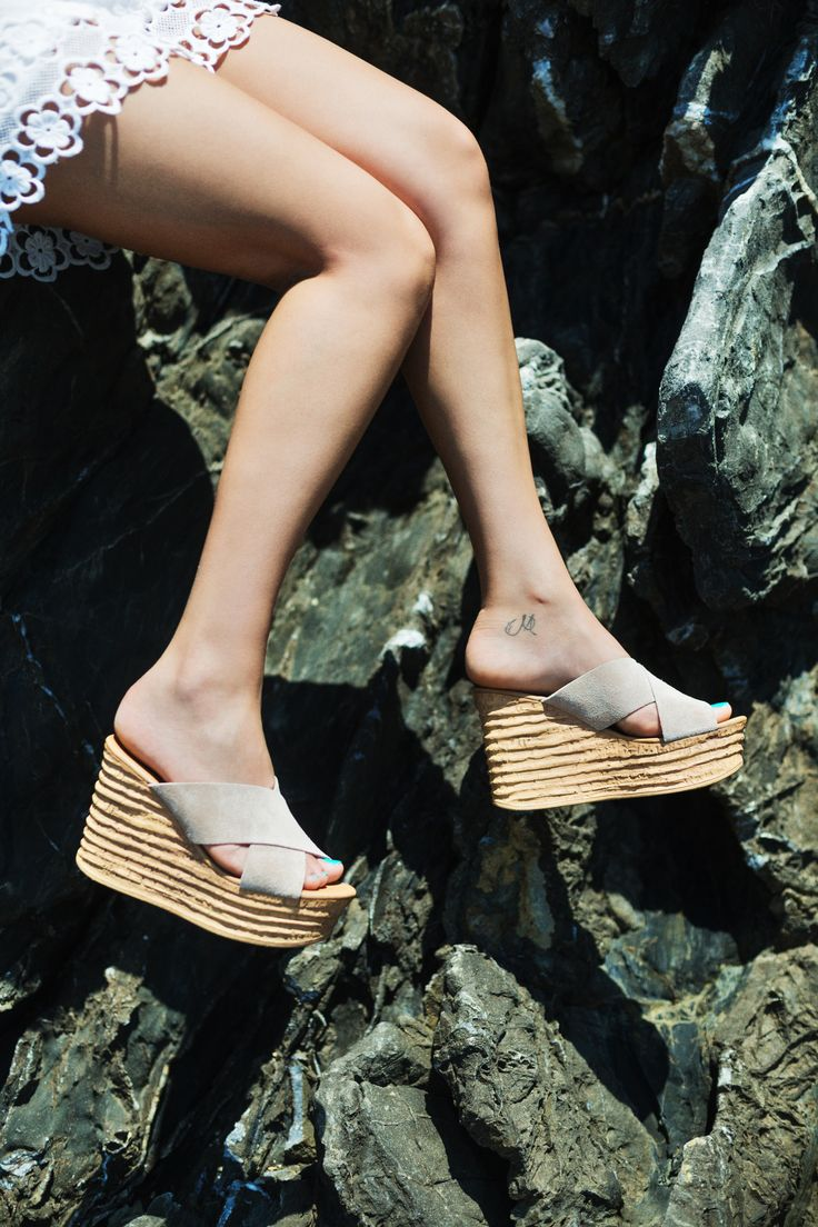 Aggie Sab Suede Platforms S/S 2015 #Fred #keepfred #shoes #collection #suede #fashion #style #new #women #trends #high #sab #platfoms #wedges
