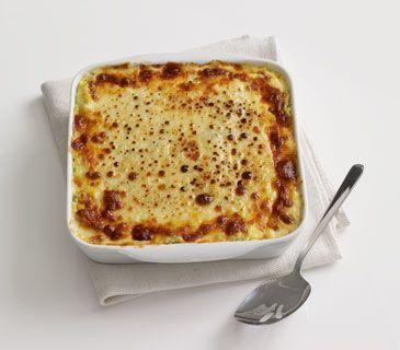 Spaghetti squash and spinach casserole