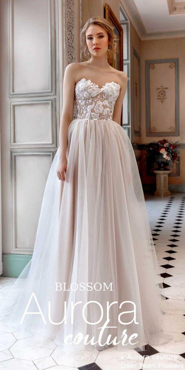 8e947ae4b4 Aurora couture Eussian Glory 2019 Wedding Dresses Blossom #deerpearlflowers  #wedding #weddings #weddingdresses