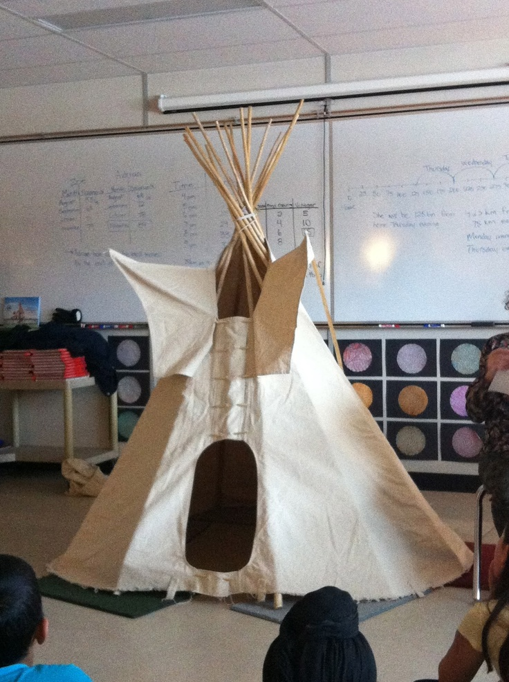 Tipi teachings in the classroom
