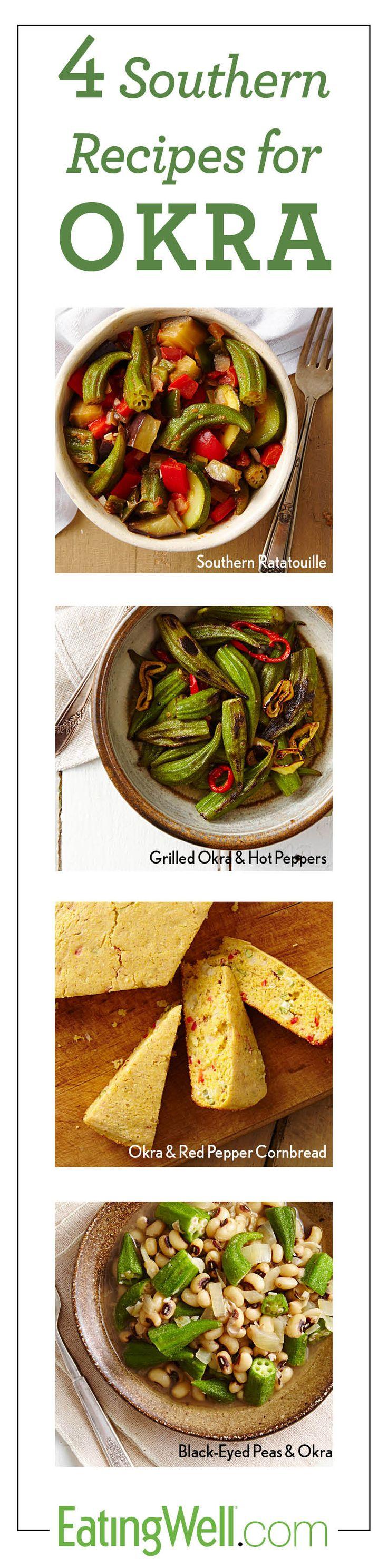 4 New Okra Recipes!