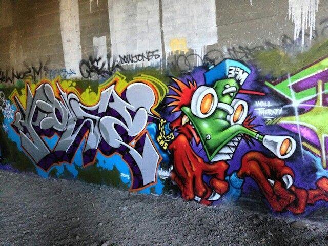 Graffiti by pose 2 and binho