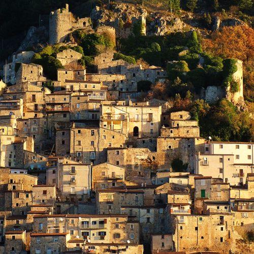 | ♕ |  into the Medieval village - Pesche, Italy  | by © francesco de vincenzi, province of Isernia, Molise region Italy .