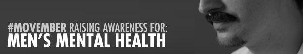 #Movember Raising Awareness for Men's Mental Health #health #wellness #mentalhealth #emotionalhealth #depression #anxiety #suicide #menshealth