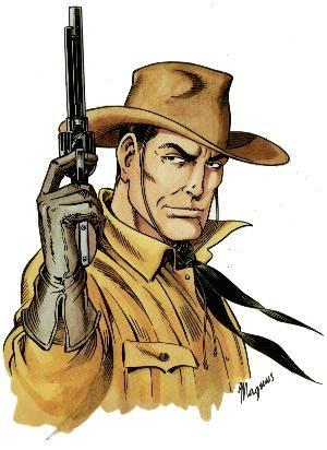 #Tex #Willer disegnato da Magnus
