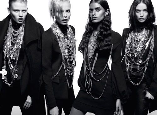 Givenchy  fall winter 08 campagne