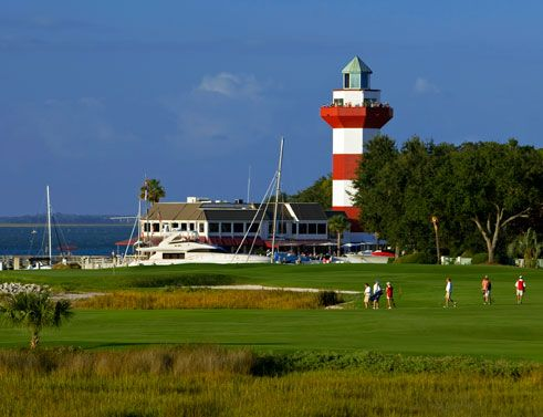 Harbour Town Golf Links - Sea Pines - played here on vacation